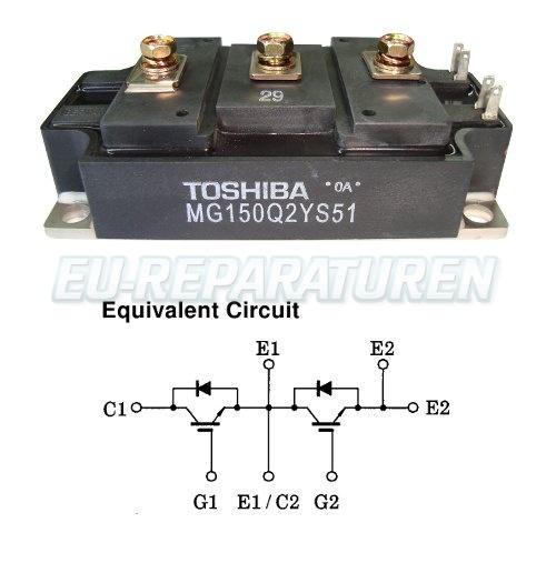Weiter zum Artikel: TOSHIBA MG150Q2YS51 IGBT MODULE