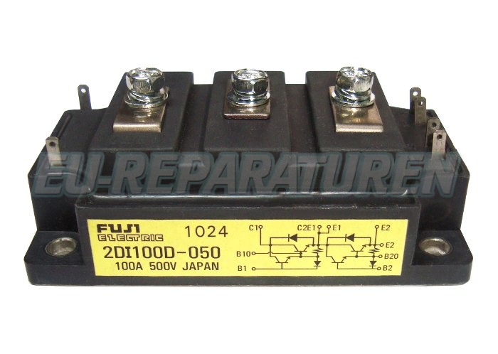 Weiter zum Artikel: FUJI ELECTRIC 2DI100D-050 TRANSISTOR MODULE