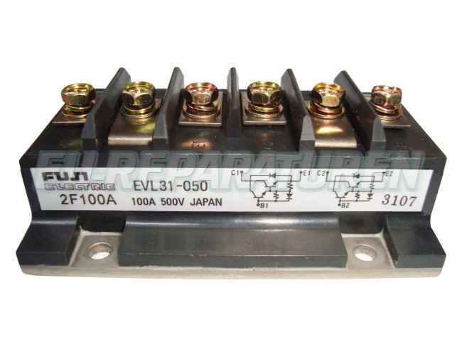 Weiter zum Artikel: FUJI ELECTRIC EVL31-050 TRANSISTOR MODULE