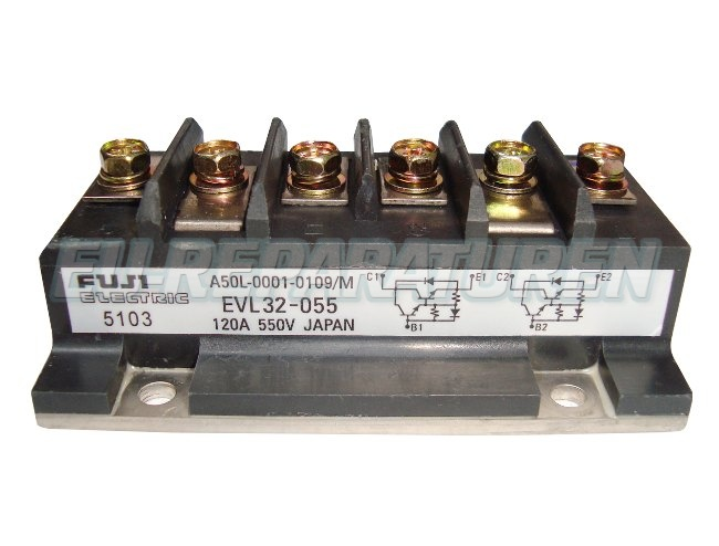 Weiter zum Artikel: FUJI ELECTRIC EVL32-055 TRANSISTOR MODULE