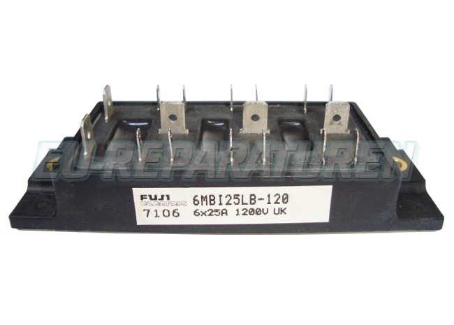 Weiter zum Artikel: FUJI ELECTRIC 6MBI25LB-120 IGBT MODULE