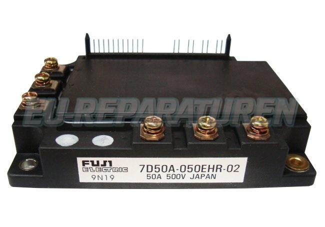 Weiter zum Artikel: FUJI ELECTRIC 7D50A-050EHR-02 IGBT MODULE