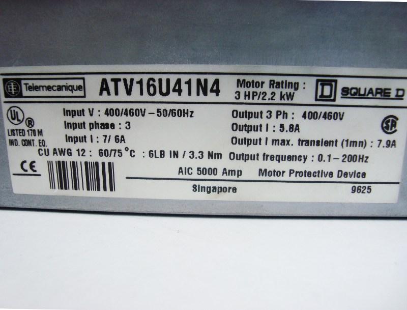 SHOP, Kaufen: TELEMECANIQUE ATV16U41N4 FREQUENZUMFORMER