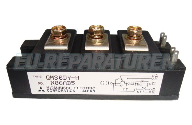 Weiter zum Artikel: MITSUBISHI ELECTRIC QM30DY-H TRANSISTOR MODULE