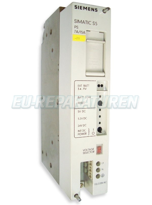 VORSCHAU: SIEMENS 6ES5951-7LD12 POWER SUPPLY