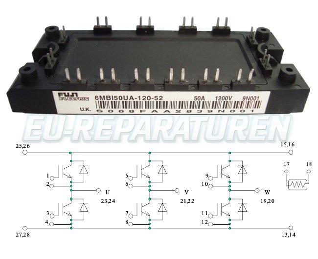Weiter zum Artikel: FUJI ELECTRIC 6MBI50UA-120-52 IGBT MODULE