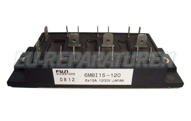 Weiter zum Artikel: FUJI ELECTRIC 6MBI15-120 IGBT MODULE