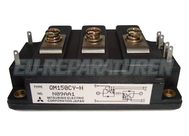 Weiter zum Artikel: MITSUBISHI ELECTRIC QM150CY-H TRANSISTOR MODULE
