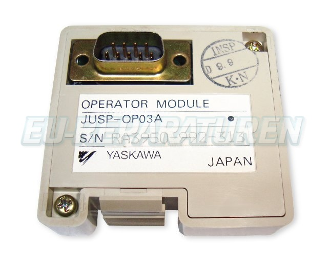 SHOP, Kaufen: YASKAWA JUSP-OP03A BEDIENPANEL