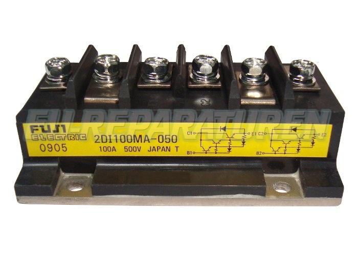 Weiter zum Artikel: FUJI ELECTRIC 2DI100MA-050 TRANSISTOR MODULE