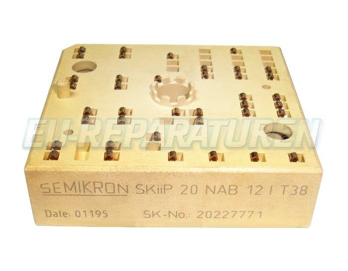 Weiter zum Artikel: SEMIKRON SKIIP20NAB12IT38 IGBT MODULE