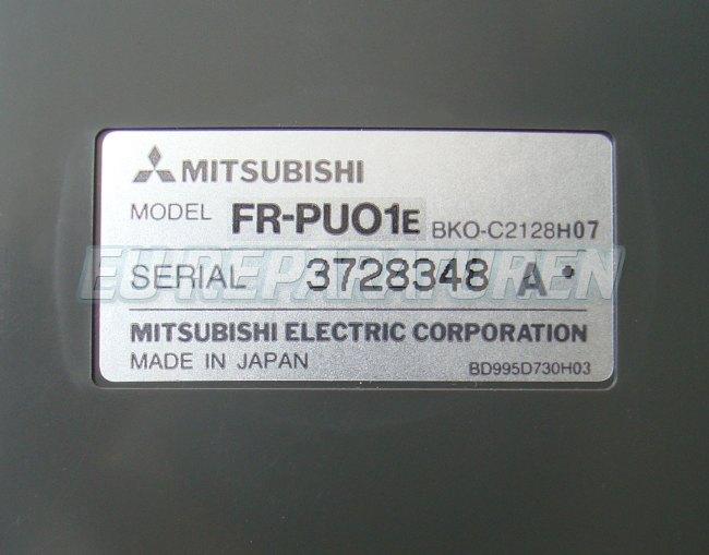 SHOP, Kaufen: MITSUBISHI ELECTRIC FR-PU01E BEDIENPANEL