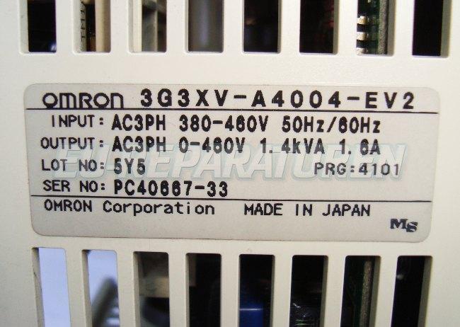 SHOP, Kaufen: OMRON 3G3XV-A4004-EV2 FREQUENZUMFORMER