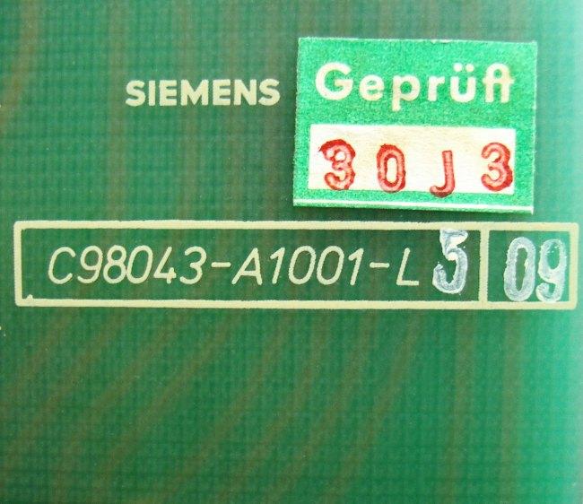 SHOP, Kaufen: SIEMENS C98043-A1001-L5-0 BOARD