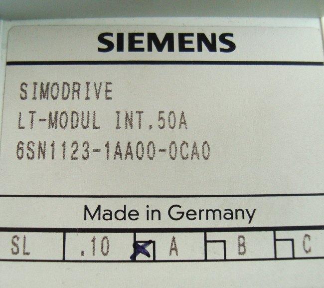 SHOP, Kaufen: SIEMENS 6SN1123-1AA00-0CA FREQUENZUMFORMER
