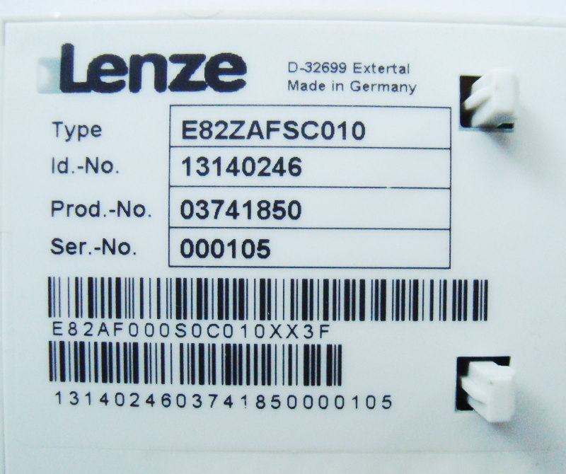 SHOP, Kaufen: LENZE E82ZAFSC010 BEDIENPANEL