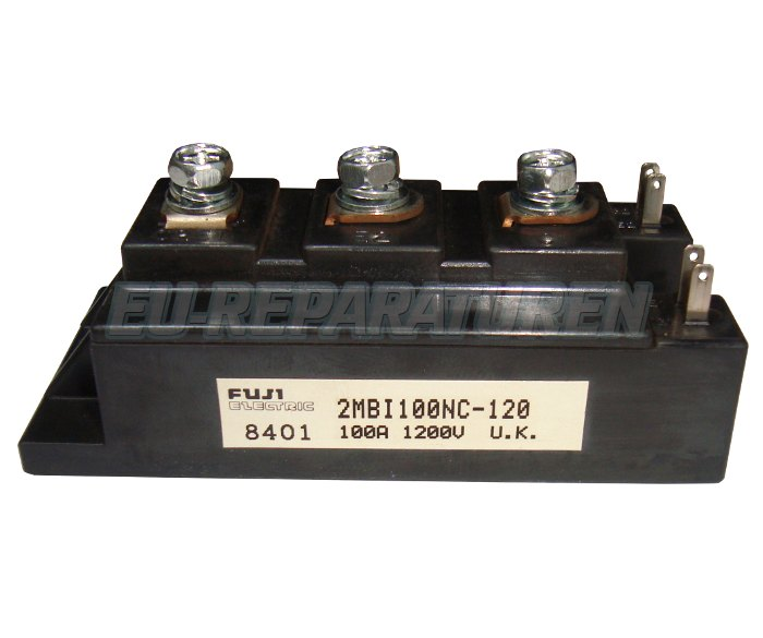Weiter zum Artikel: FUJI ELECTRIC 2MBI100NC-120 IGBT MODULE