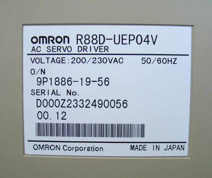 SHOP, Kaufen: OMRON R88D-UEP04V FREQUENZUMFORMER