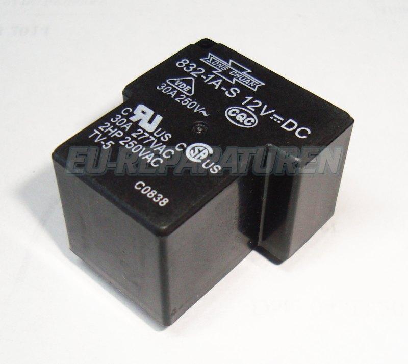 VORSCHAU: SONG CHUAN 832-1A-S-12VDC RELAIS