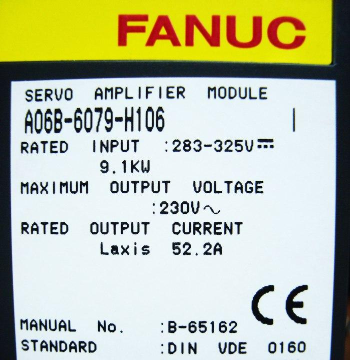 SHOP, Kaufen: FANUC A06B-6079-H106 FREQUENZUMFORMER