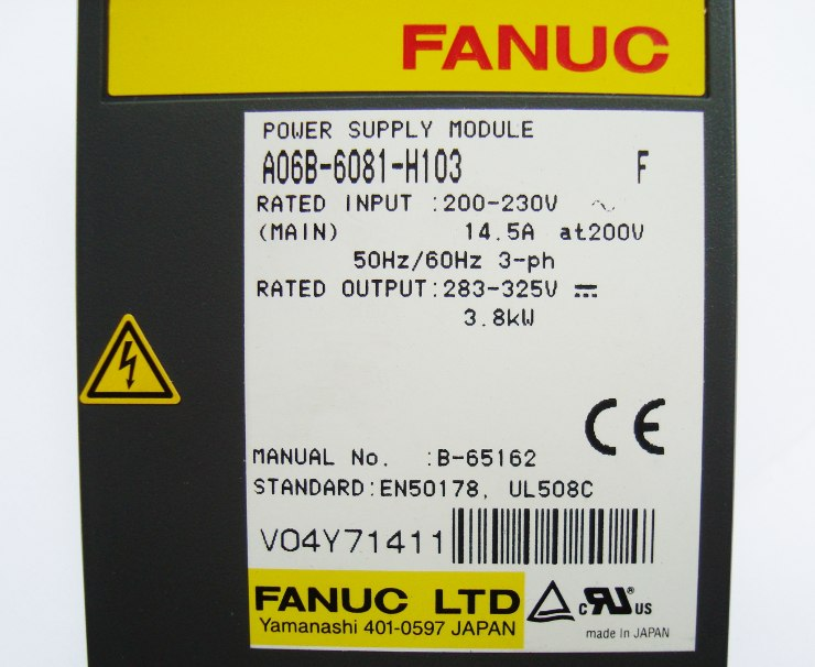 SHOP, Kaufen: FANUC A06B-6081-H103 POWER SUPPLY