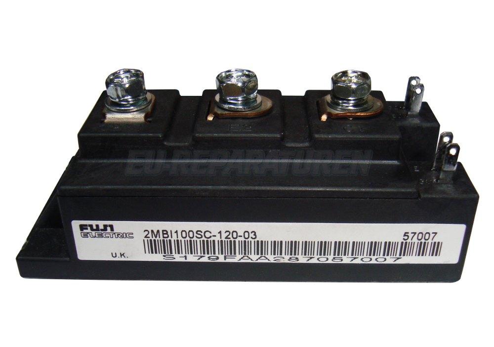 VORSCHAU: FUJI ELECTRIC 2MBI100SC-120 IGBT MODULE
