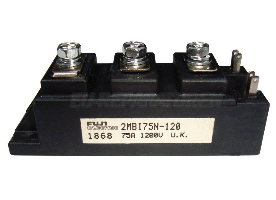 Weiter zum Artikel: FUJI ELECTRIC 2MBI75N-120 IGBT MODULE