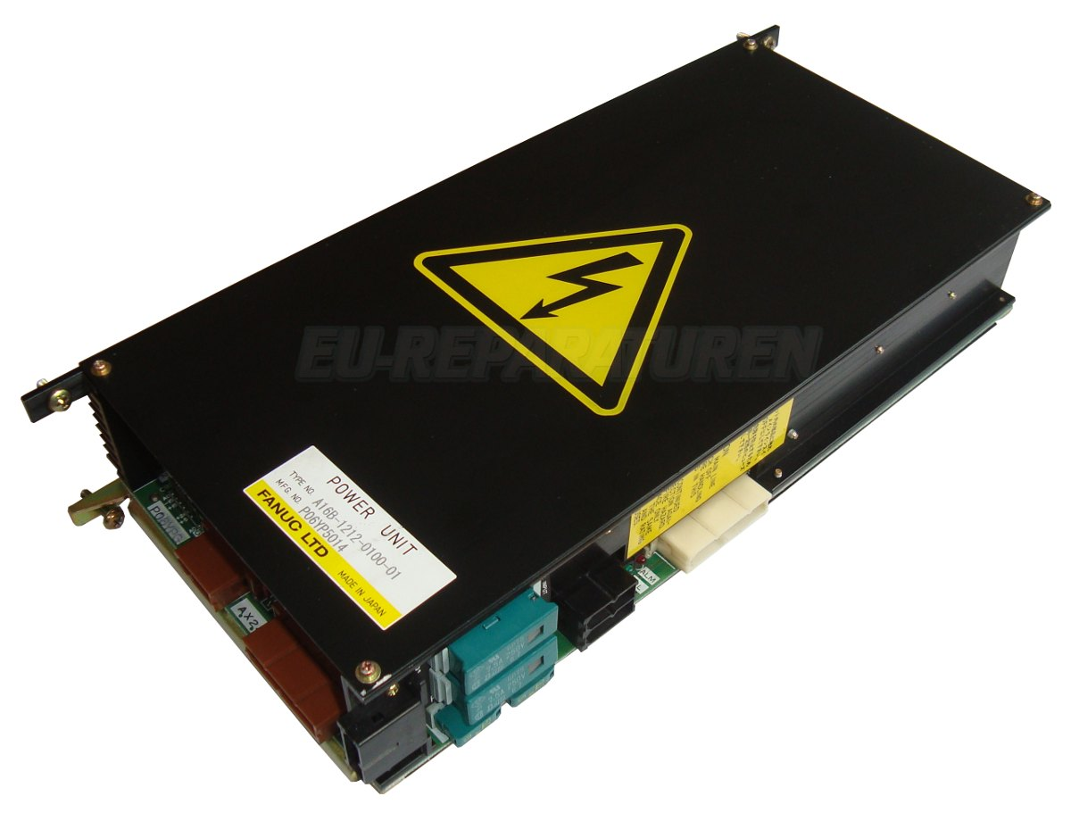 Weiter zum Artikel: FANUC A16B-1212-0100-01 POWER SUPPLY