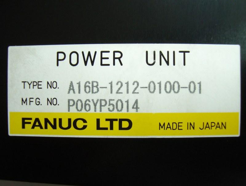 SHOP, Kaufen: FANUC A16B-1212-0100-01 POWER SUPPLY