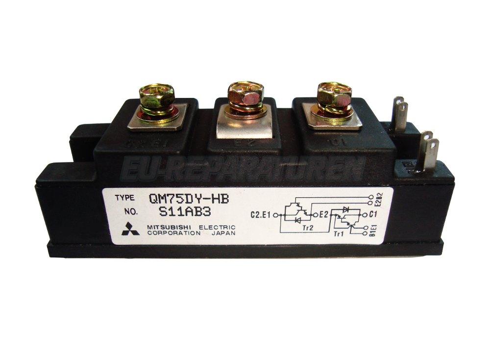 VORSCHAU: MITSUBISHI ELECTRIC QM75DY-HB TRANSISTOR MODULE