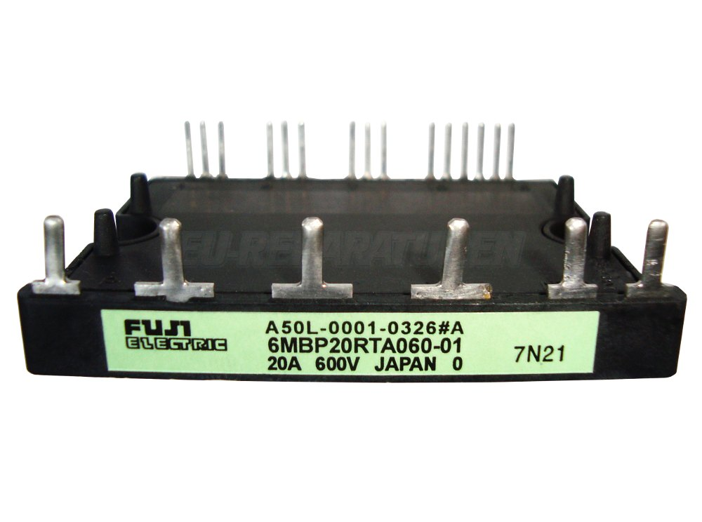 Weiter zum Artikel: FUJI ELECTRIC 6MBP20RTA060-01 IGBT MODULE