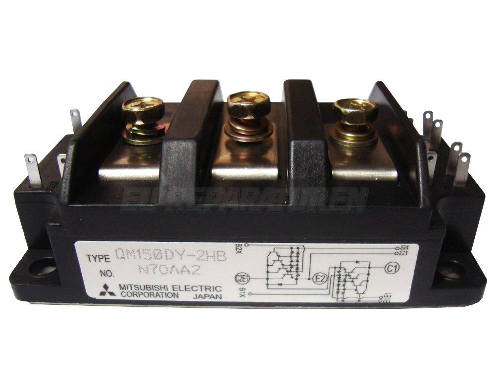 Weiter zum Artikel: MITSUBISHI ELECTRIC QM150DY-2HB TRANSISTOR MODULE