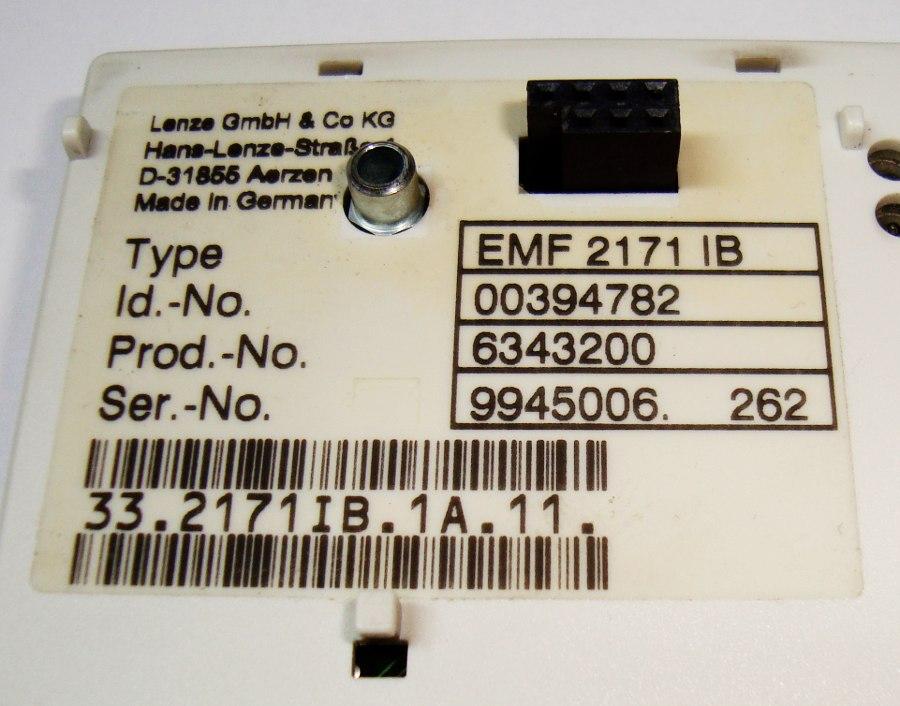 SHOP, Kaufen: LENZE EMF2171IB BEDIENPANEL