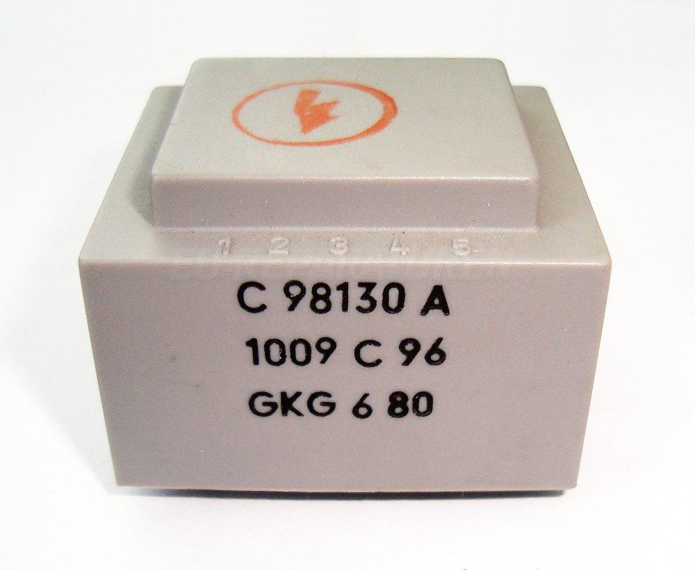 Weiter zum Artikel: SIEMENS C98130-A1009-C96 TRANSFORMATOR