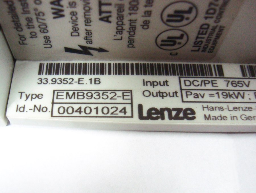 SHOP, Kaufen: LENZE EMB9352-E BREMSEINHEIT