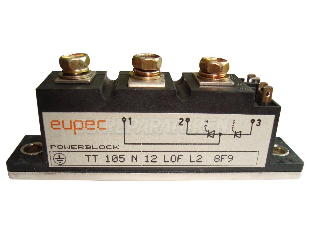 SHOP, Kaufen: EUPEC TT105N12 THYRISTOR MODULE