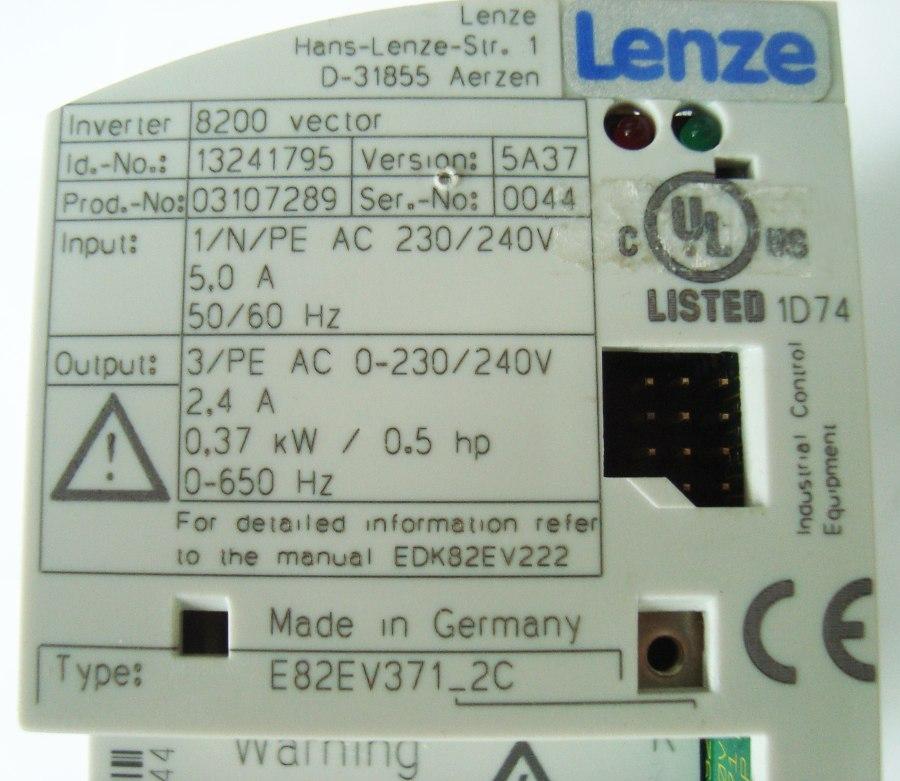 SHOP, Kaufen: LENZE E82EV371_2C FREQUENZUMFORMER