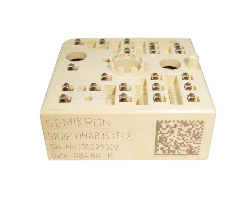 Weiter zum Artikel: SEMIKRON SKIIP11NAB063T42 IGBT MODULE