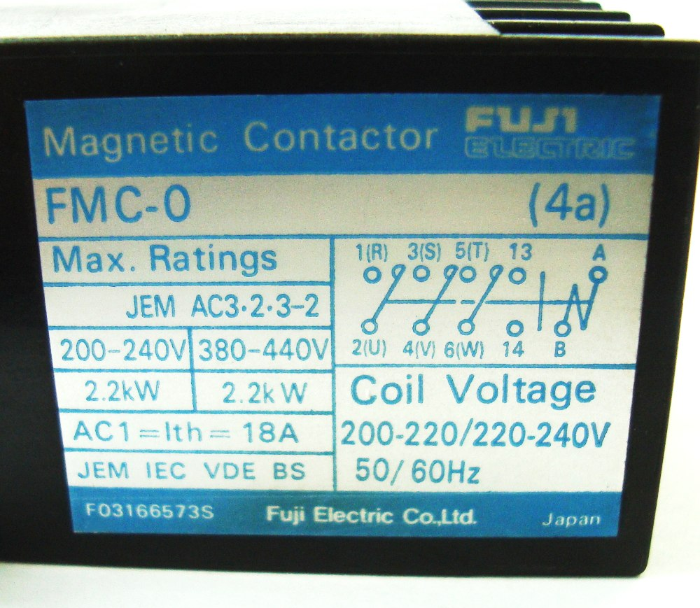 SHOP, Kaufen: FUJI ELECTRIC FMC-0-4A RELAIS