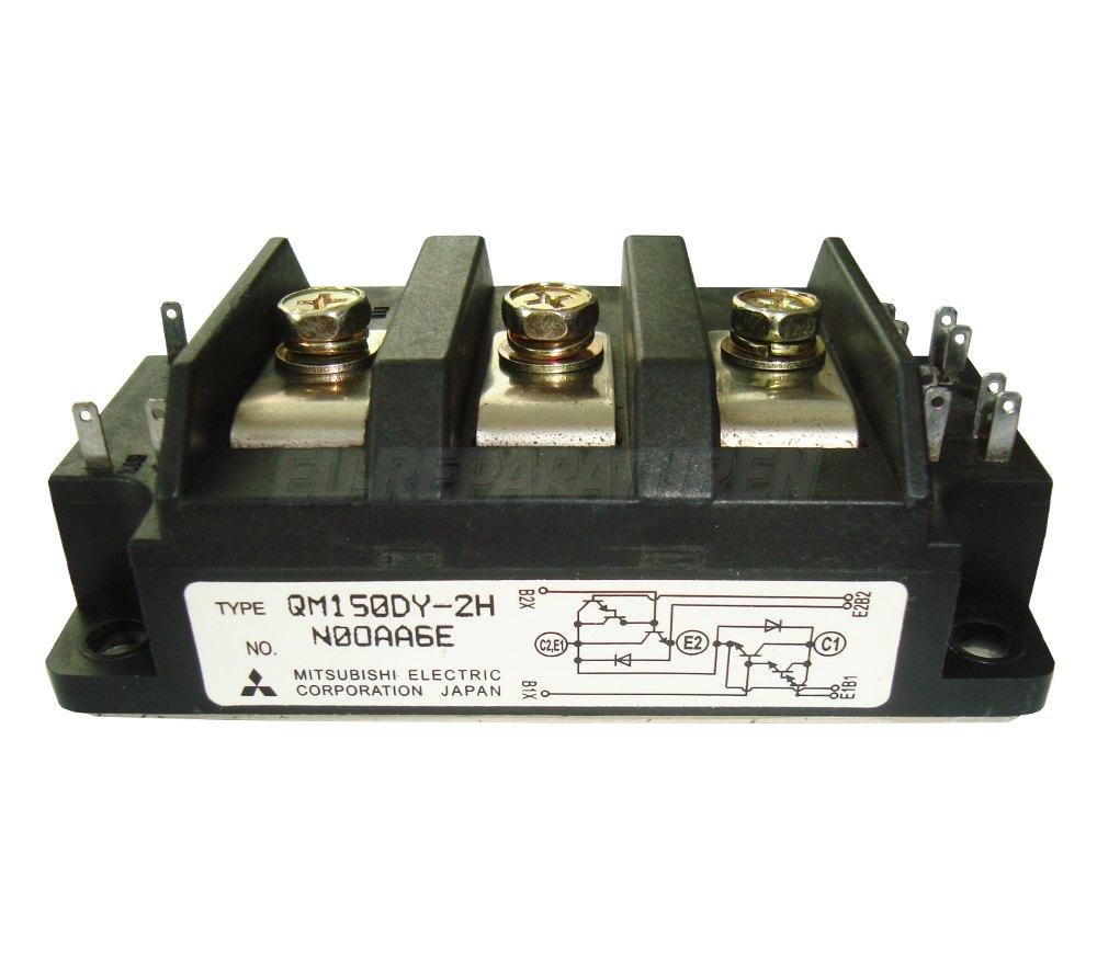 Weiter zum Artikel: MITSUBISHI ELECTRIC QM150DY-2H TRANSISTOR MODULE