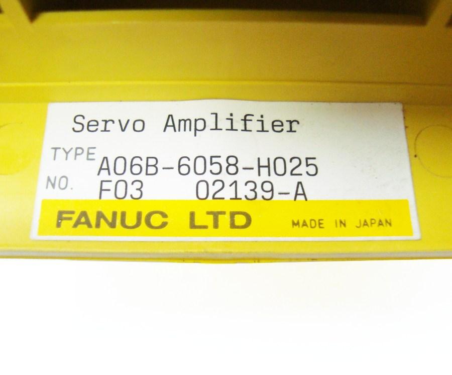 VORSCHAU: FANUC A06B-6058-H025 FREQUENZUMFORMER
