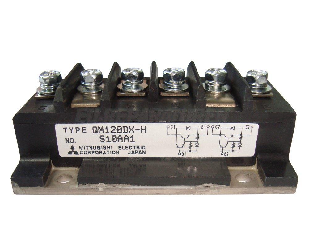 Weiter zum Artikel: MITSUBISHI ELECTRIC QM120DX-H TRANSISTOR MODULE