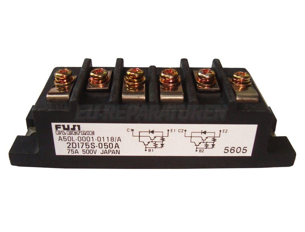 Weiter zum Artikel: FUJI ELECTRIC 2DI75S-050A TRANSISTOR MODULE
