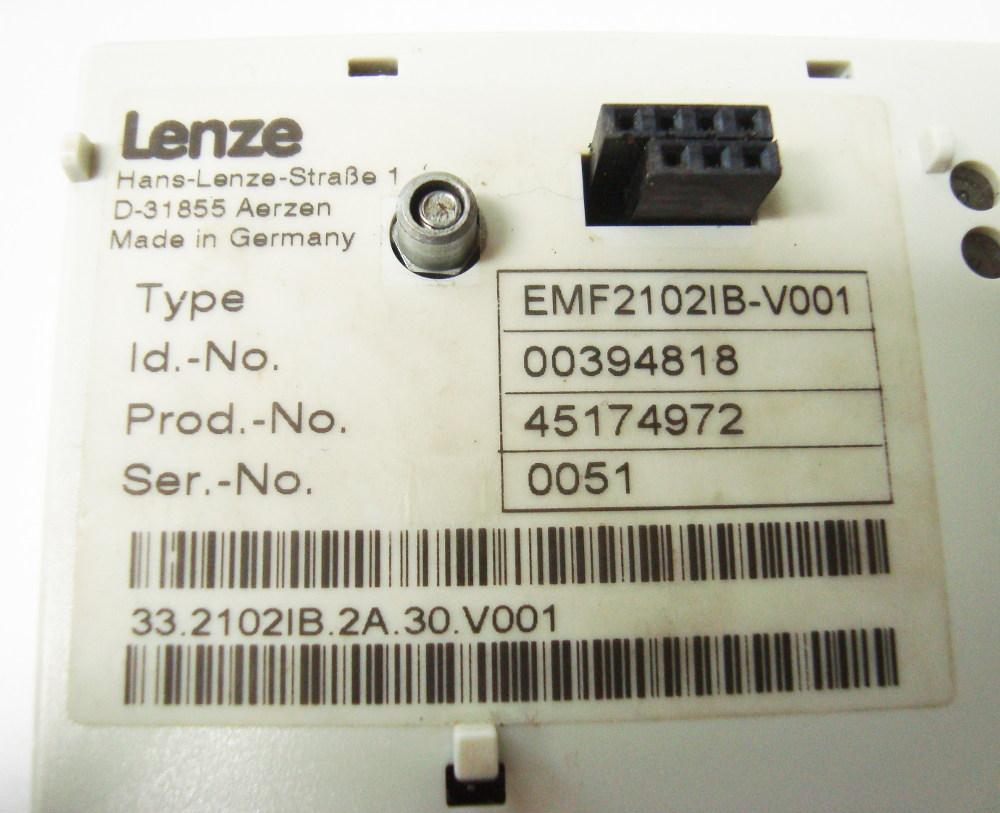 Weiter zum Artikel: LENZE EMF2102IB-V001 BEDIENPANEL