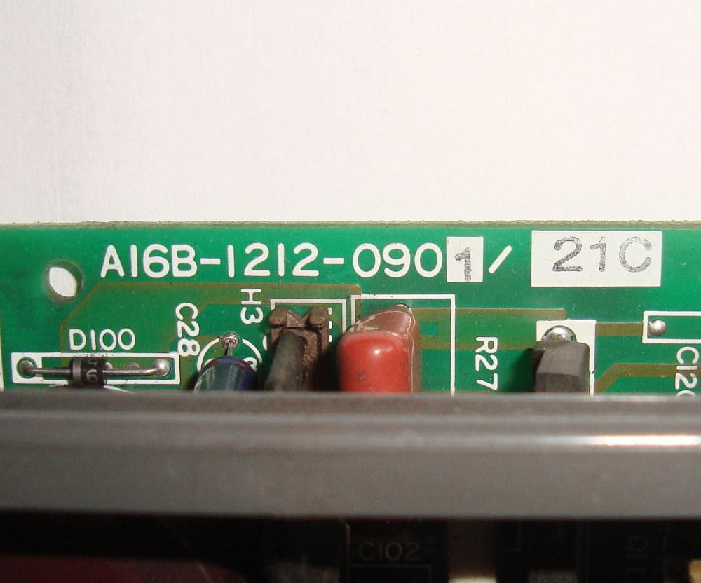 VORSCHAU: FANUC A16B-1212-0901 POWER SUPPLY