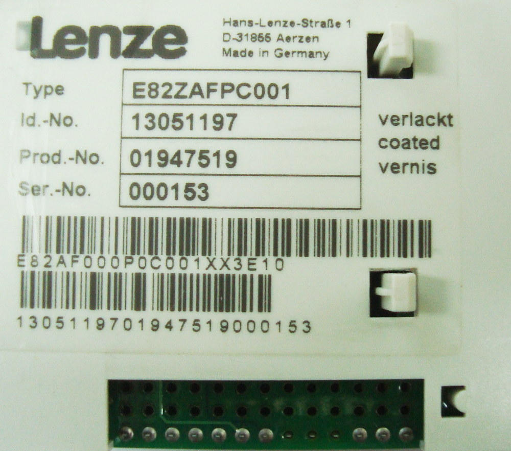 SHOP, Kaufen: LENZE E82ZAFPC001 BEDIENPANEL