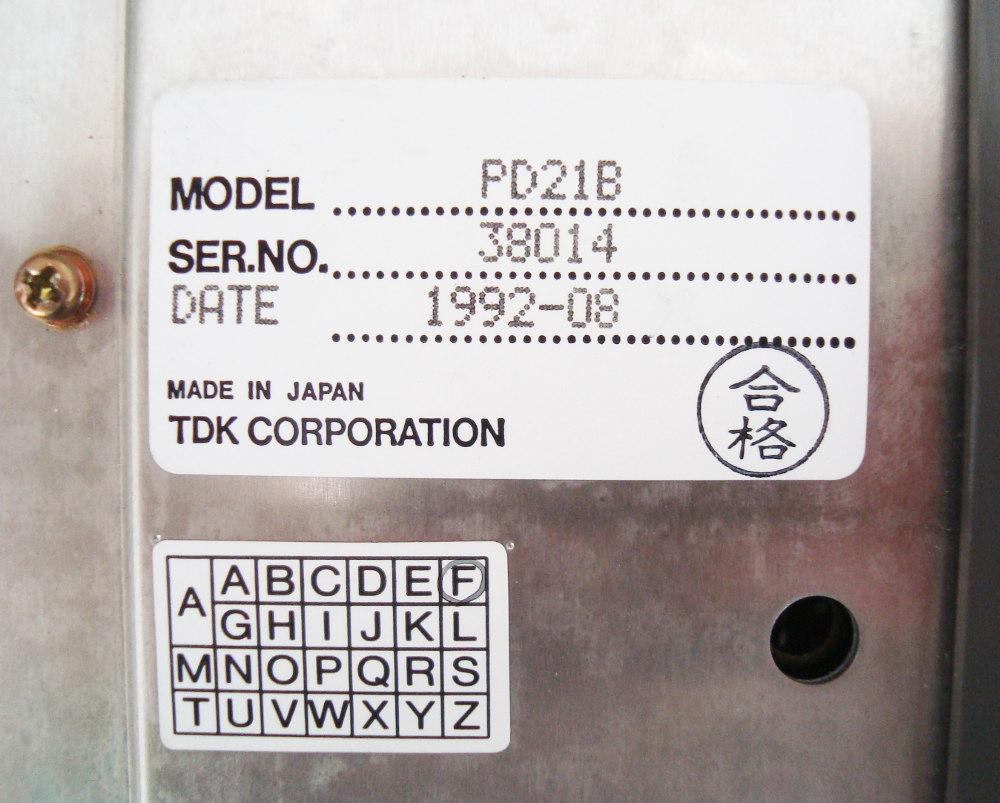SHOP, Kaufen: MITSUBISHI ELECTRIC PD21B POWER SUPPLY