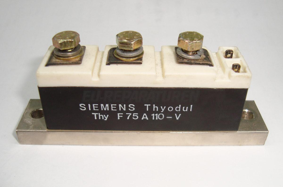 VORSCHAU: SIEMENS F75A110-V THYRISTOR MODULE