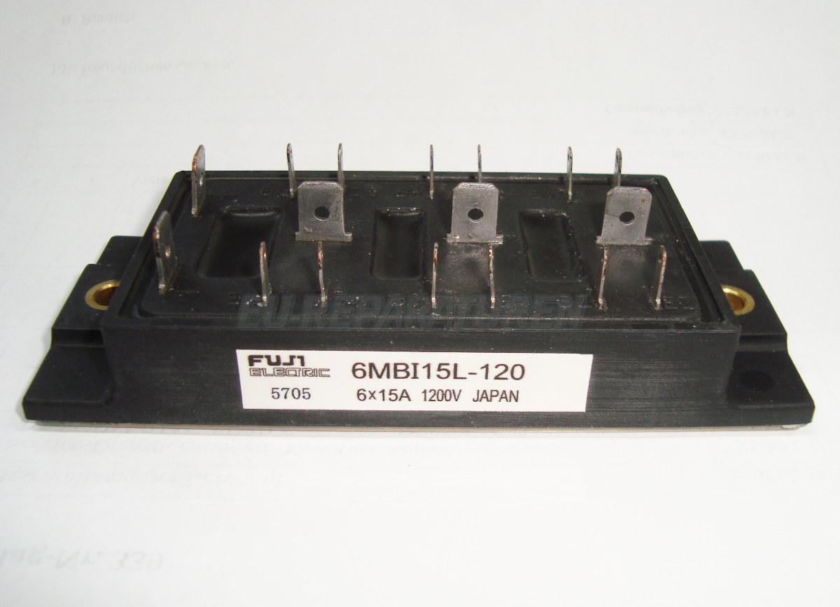 Weiter zum Artikel: FUJI ELECTRIC 6MBI15L-120 IGBT MODULE