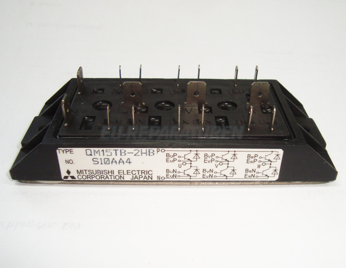 Weiter zum Artikel: MITSUBISHI ELECTRIC QM15TB-2HB TRANSISTOR MODULE